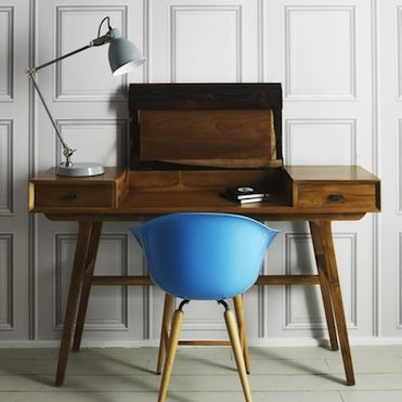 Two-Tone 50s writing desk from Graham and Green