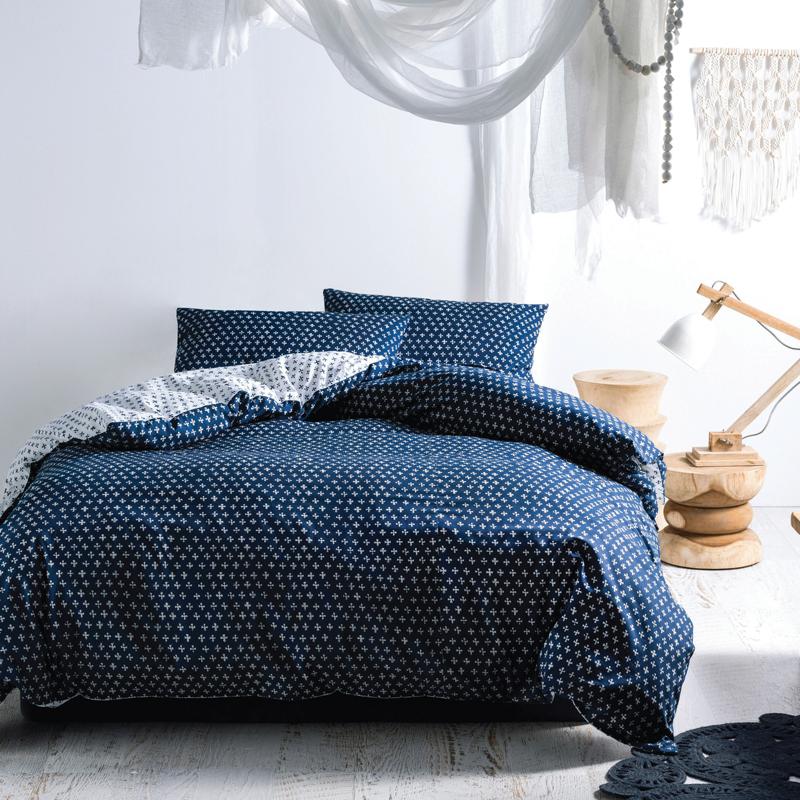 Oki Cotton Slub Duvet Cover Set Bed Bath & Beyond