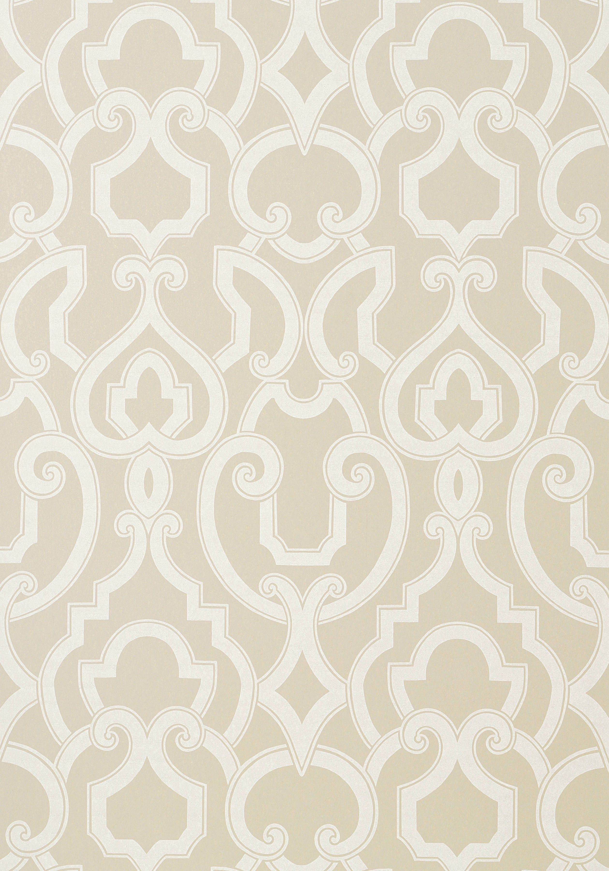 hourglass trellis wallpaper in blue and white design by york thibaut royal in linen