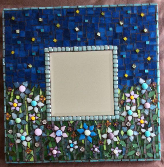 12 Inch Square Mosaic Mirror Mirror Mosaic Mosaic Mirror Mosaic