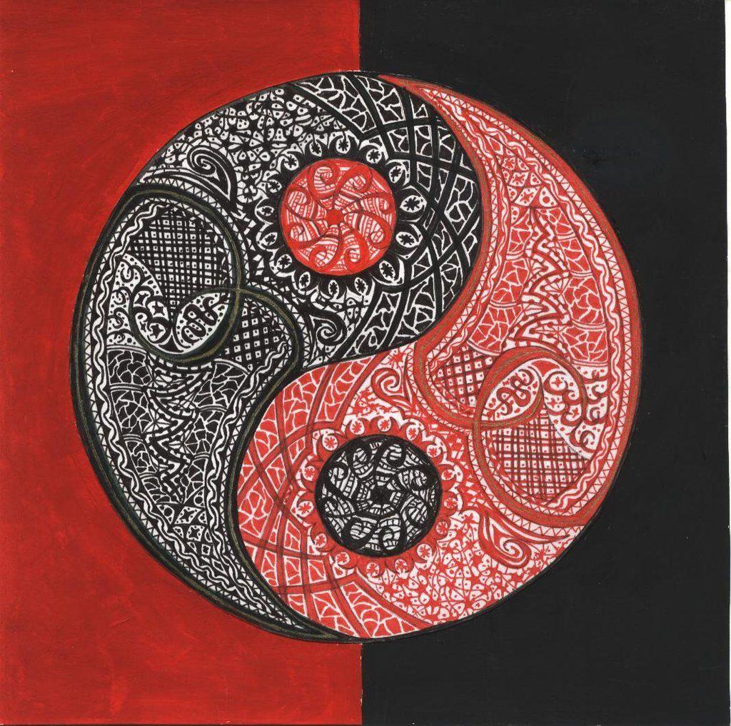 yin and yang by on deviantart zuk nftige projekte. Black Bedroom Furniture Sets. Home Design Ideas