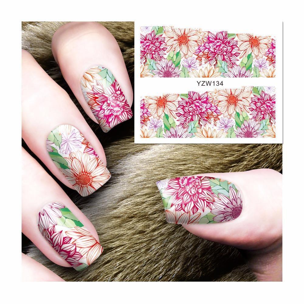 Visit to Buy] FWC Beauty Nails Harajuku Designs Nail Art Water ...