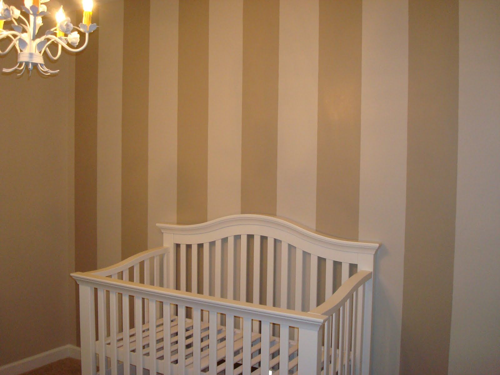 Vertical Striped Walls For Nursery @Jennifer Smith What Is In