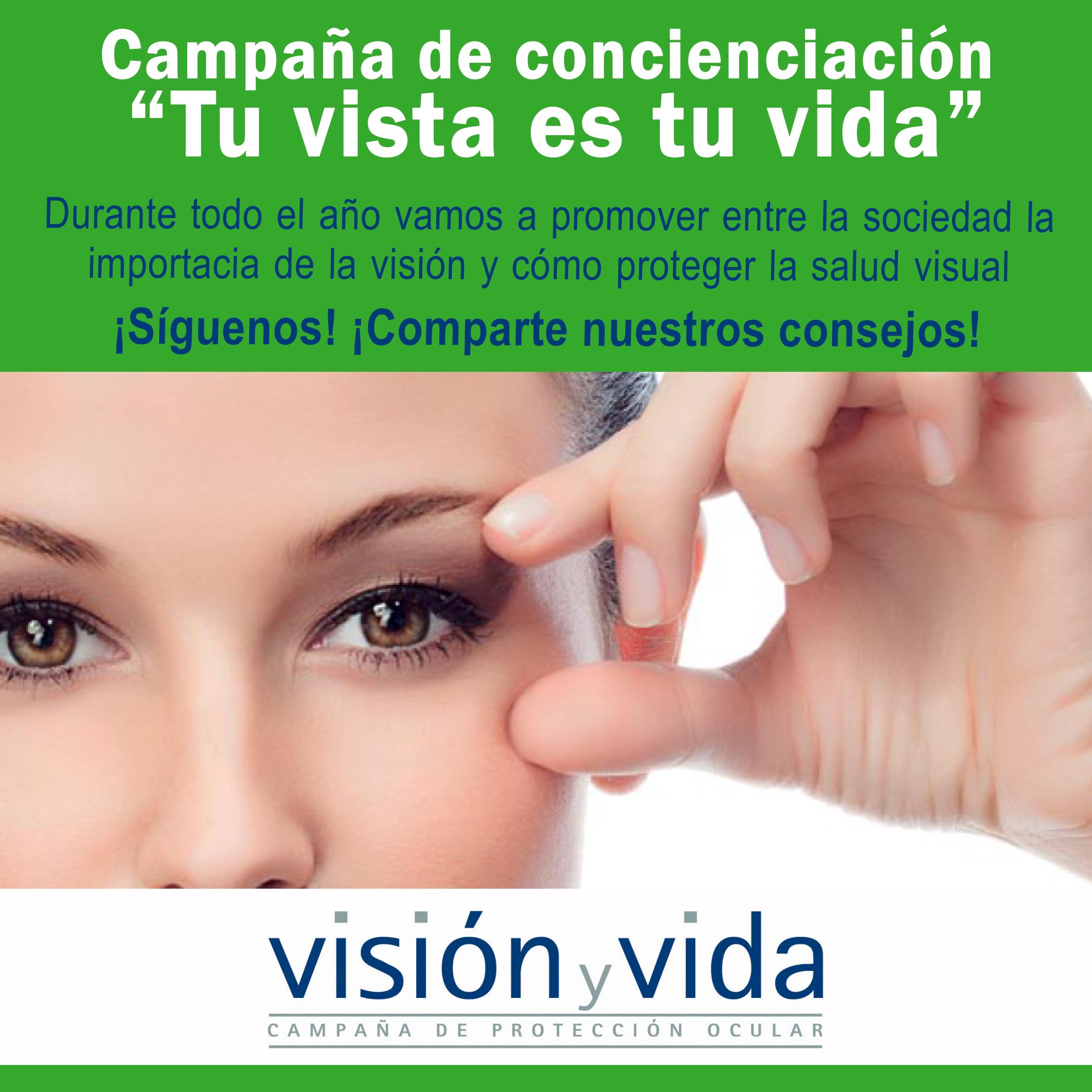 Queremos informar de la importancia de la salud visual