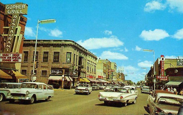 1950s Detroit Detroit Lakes Detroit Lakes Minnesota Scenes