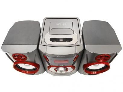 Micro System Lenoxx 12w Mp3 Usb Com Bluetooth Com As Melhores