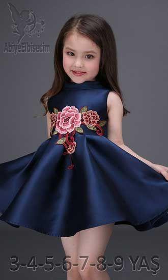 8f57d85376e5b kız çocuk abiye elbise çiçek desenli,çocuk elbise modelleri ,bebek elbise,kız  çocuk elbise