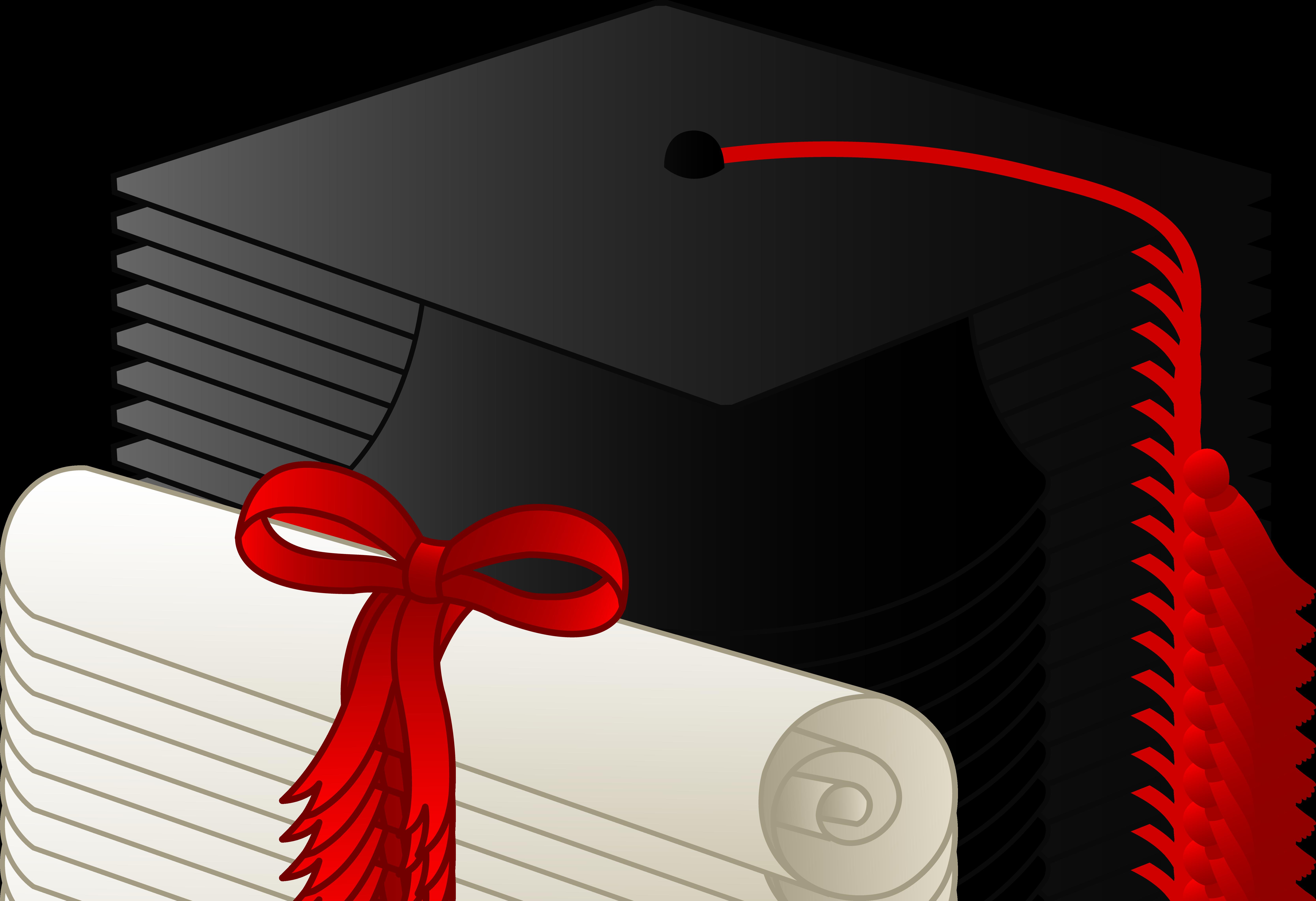 Graduation Cap And Diploma Free Clip Art Graduation Cap Clipart Graduation Clip Art Graduation Diploma