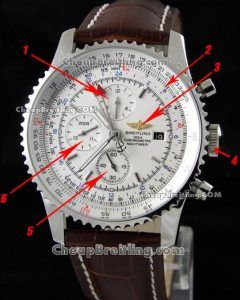 f846cecafb7 copy breitling navitimer world gmt stainless white 46mm a24322 chronograph  watch