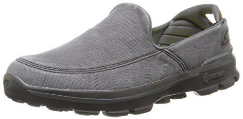 25bdcd98318b1 Skechers Performance Men's Go Walk 3 Unwind Slip-On Walking Shoe, Black,  10.5 M US