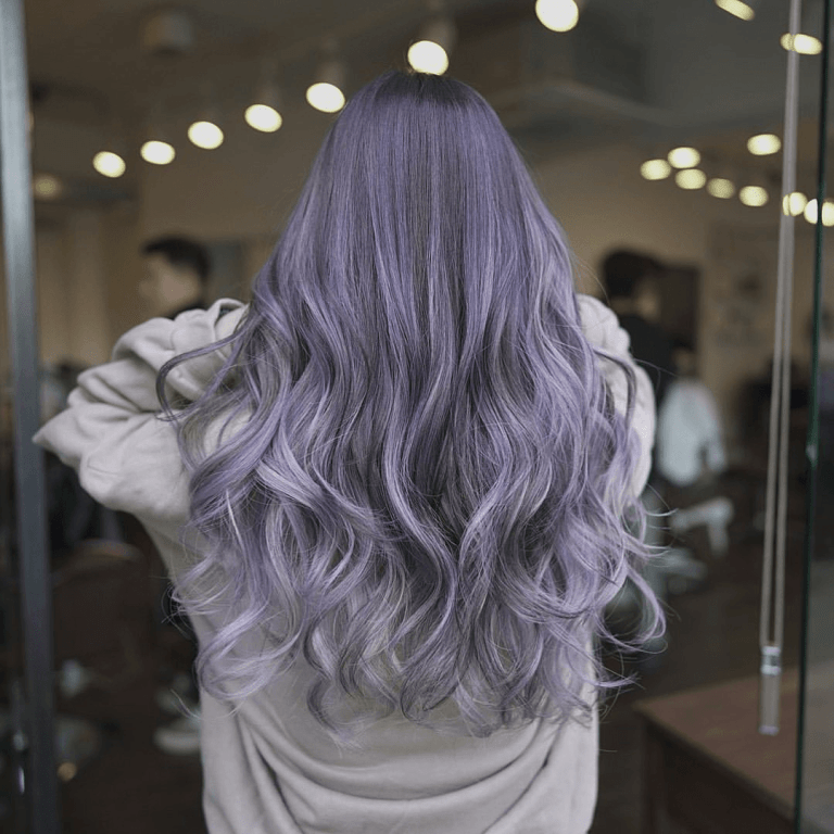 Ash Purple Hair - Everything You Need to Know!   H