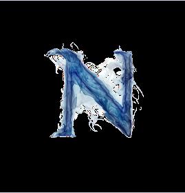 Misterioso Alfabeto Azul Oh My Alfabetos Fotos De Letras Letras De Fuego Misterioso