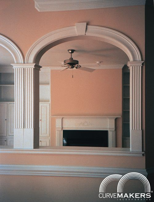 Arched Doorway Trim Kit Cbs 3 Arch Kit - Curvemakers Inc - Curvemakers Patented