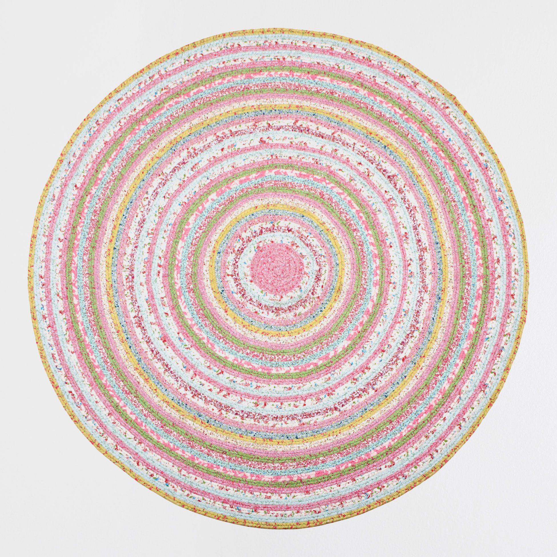 Alfombra kids redonda multicolor alfombras y cortinas for Zara alfombras
