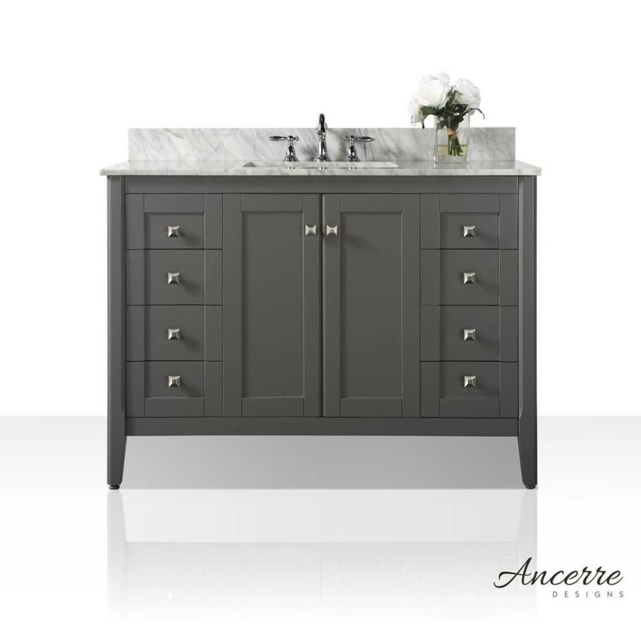 Ancerre Designs Shelton Sapphire Gray Undermount Single Sink