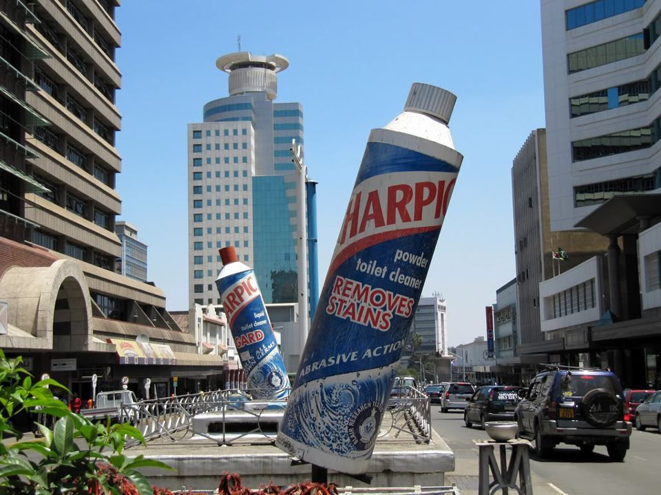 streets of ZimbabweHarare Africa