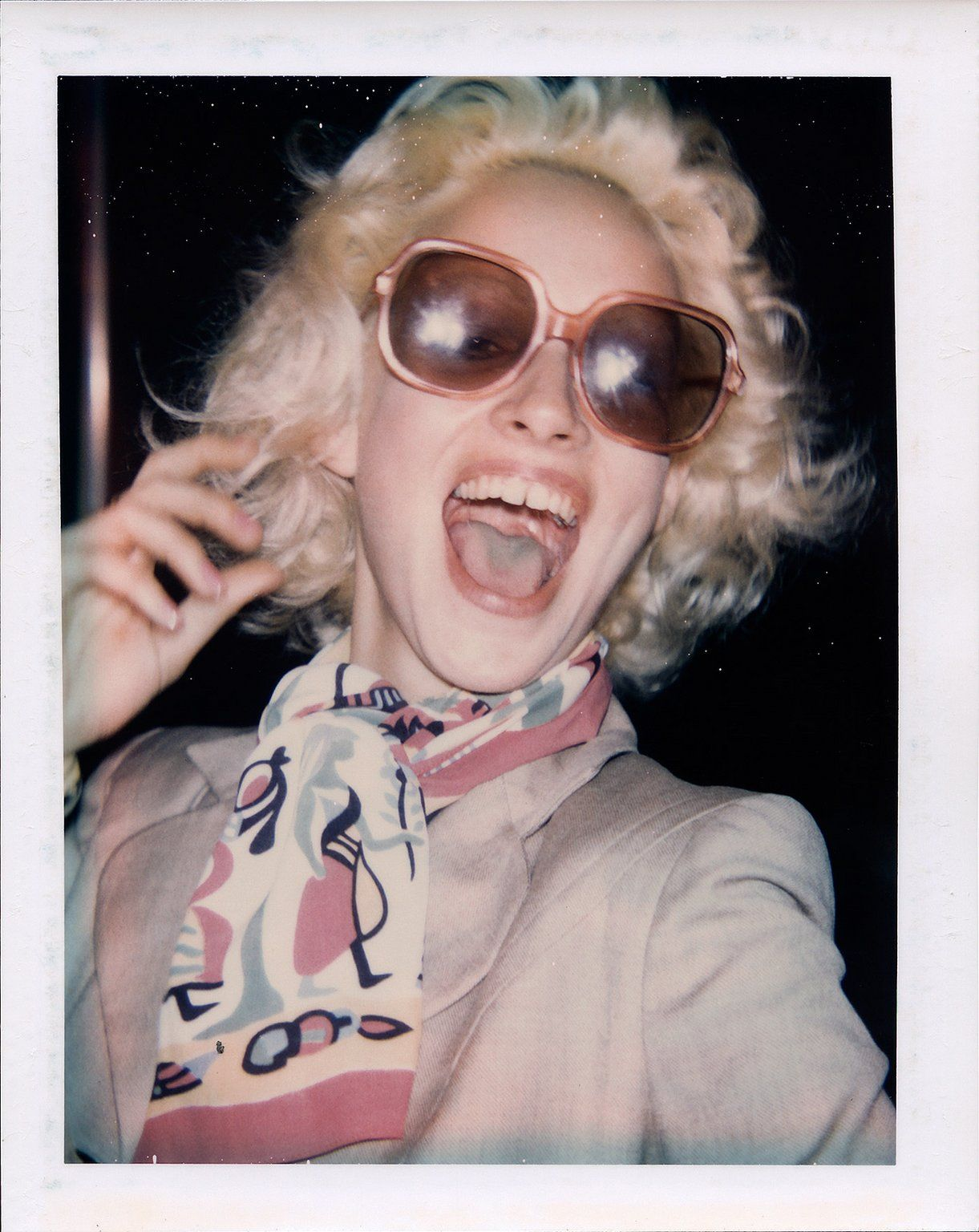 Donna Jordan, 1971 (Polaroid) ©The Andy Warhol Foundation for the Visual Arts, Inc.