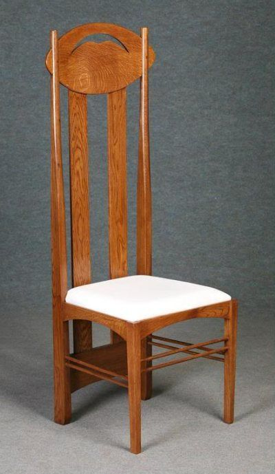 Mackintosh Chair Made Of Solid Oak In Our Argyle Design This Is Ideal As A Display Hall Or An Alternative Dining