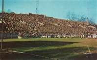 Corcoran Stadium Xavier University Cincinnati Dad And Two Uncles Played Here Stadium Abandoned Places Corcoran