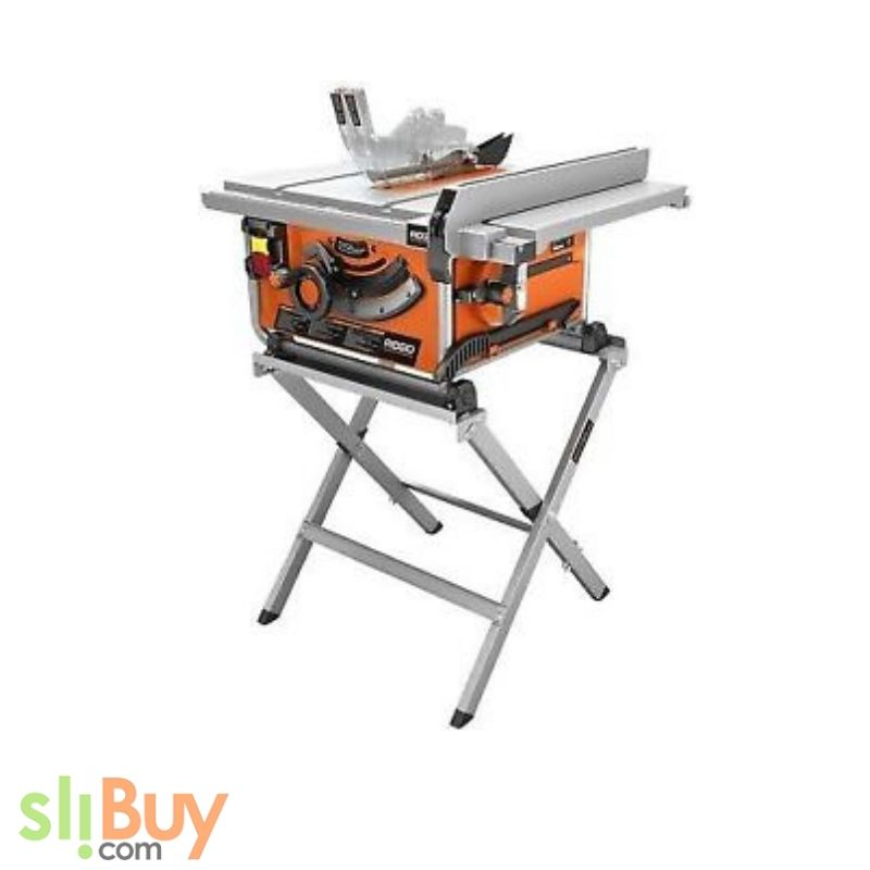 Ridgid Aq14995g Compact Table Saw With Stand 10in I17 Portable Table Saw Diy Table Saw Best Table Saw