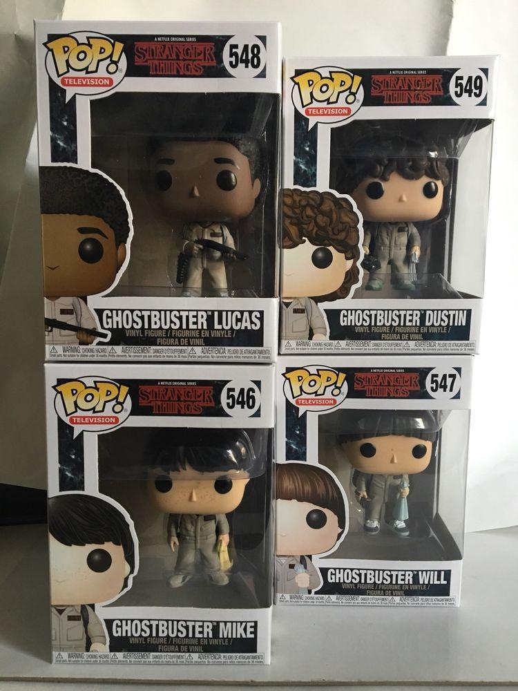 Stranger Things-Ghostbuster Dustin 549 Funko POP TV!