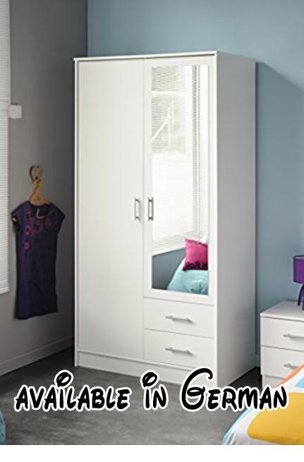 B00NTRFTQG  Drehtürenschrank Infinity Kleiderschrank mit 2 Türen