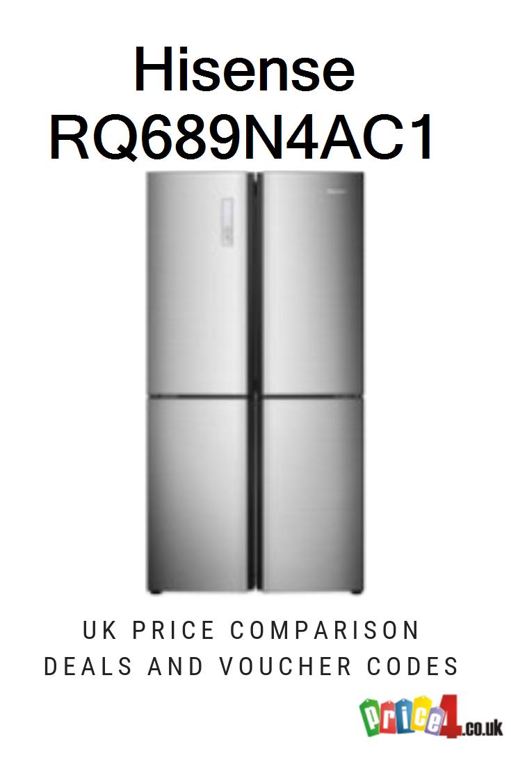 Hisense RQ689N4AC1 - UK Prices    American Style Fridge