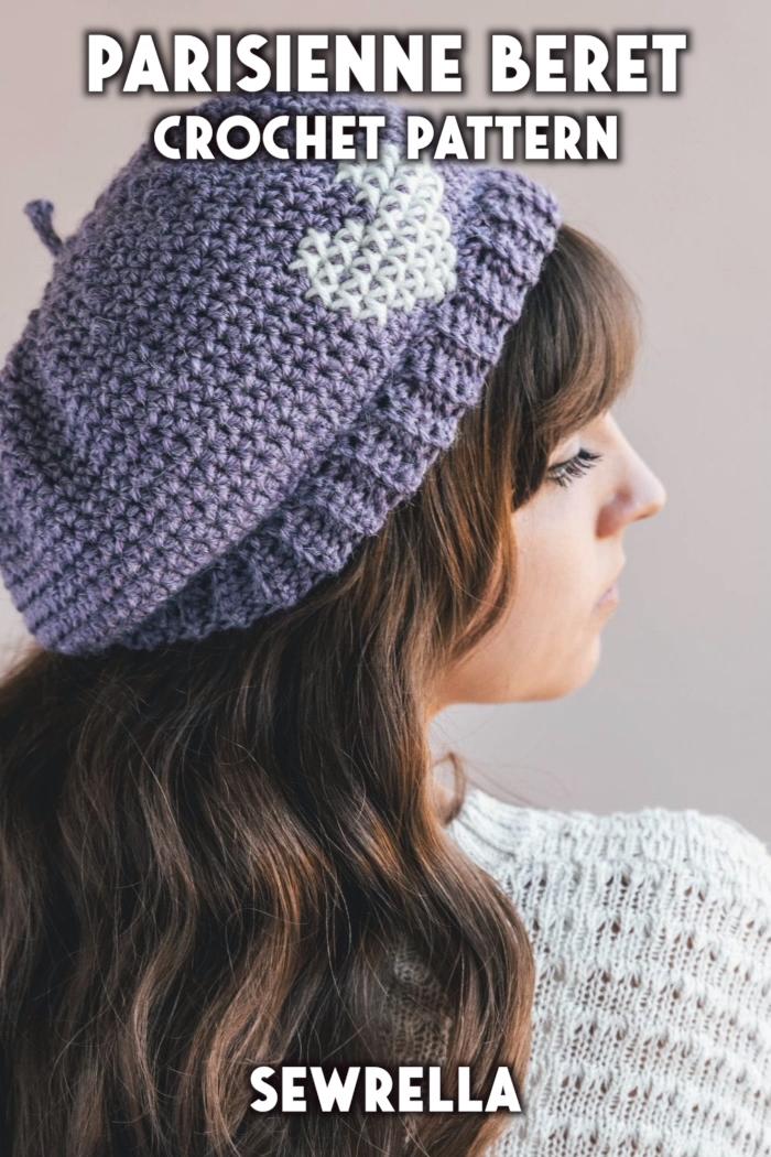 Photo of Crochet Parisienne Beret – free pattern