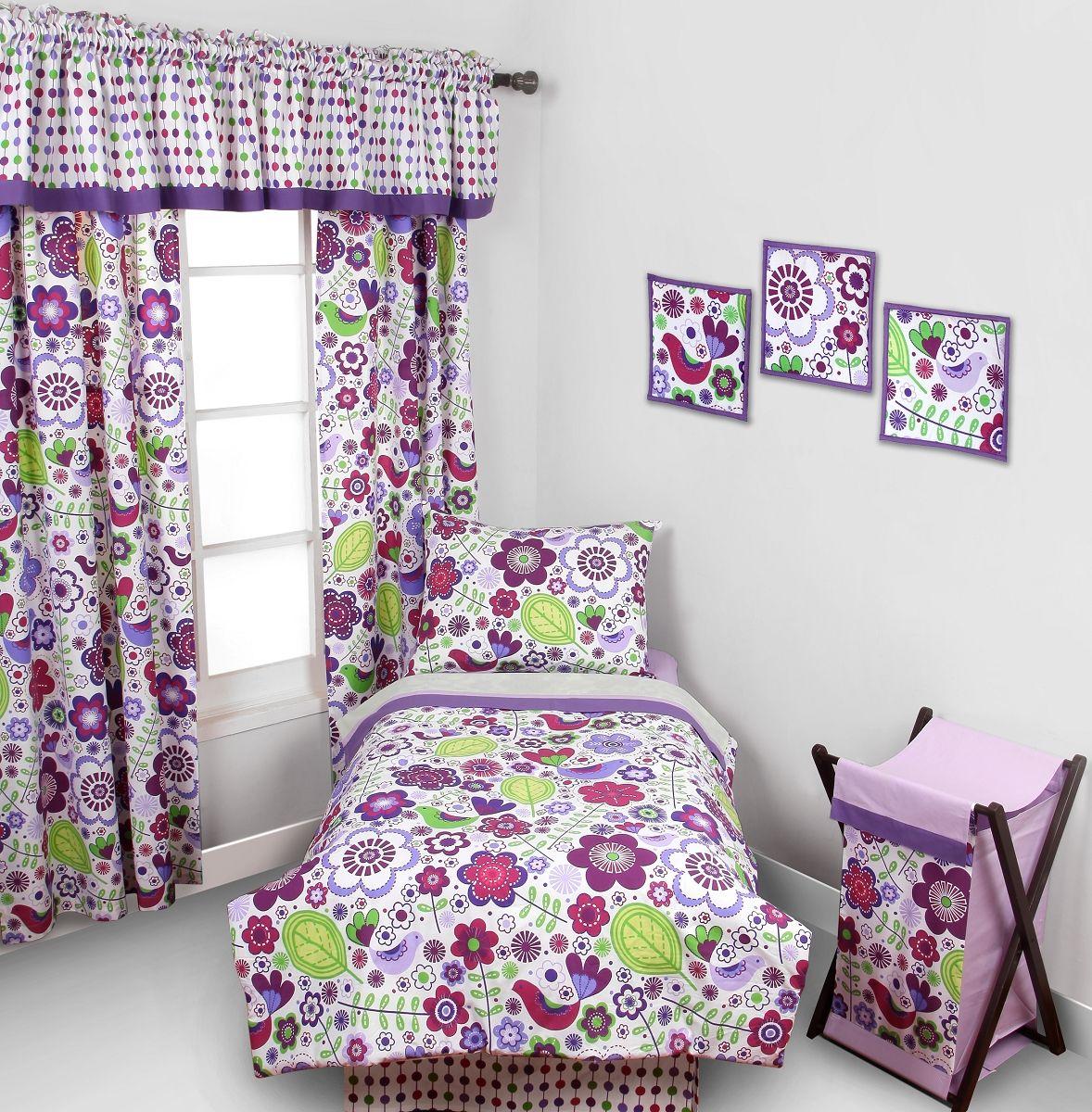 Purple Toddler Bedding Lilac Toddler Bedding Floral Toddler
