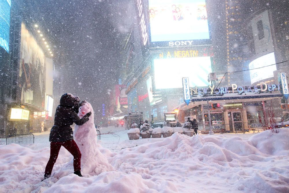 Neve a NY