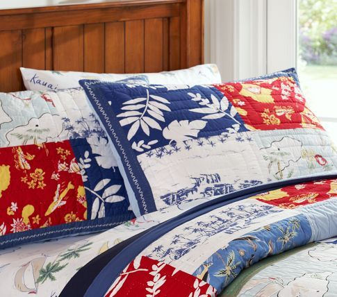 Surf Bedding Pottery Barn Kids For My Little Man Kid Beds