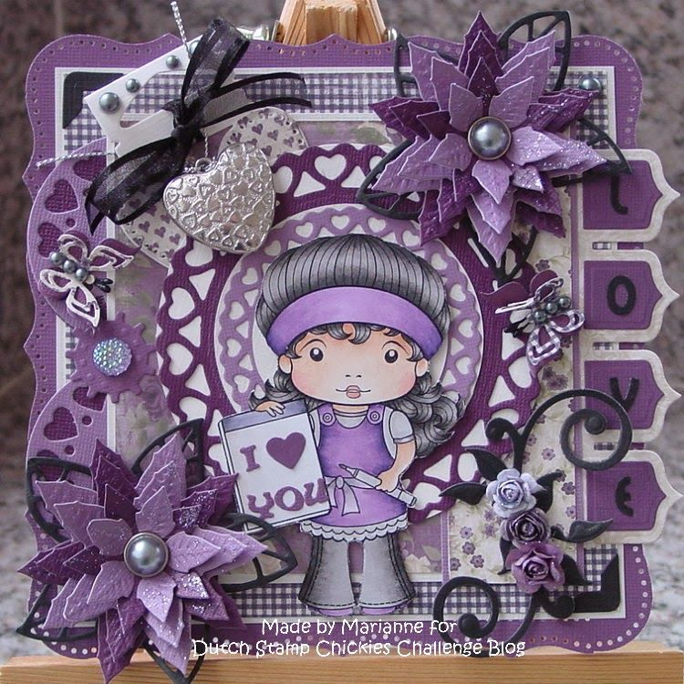 Cards created by Marianne