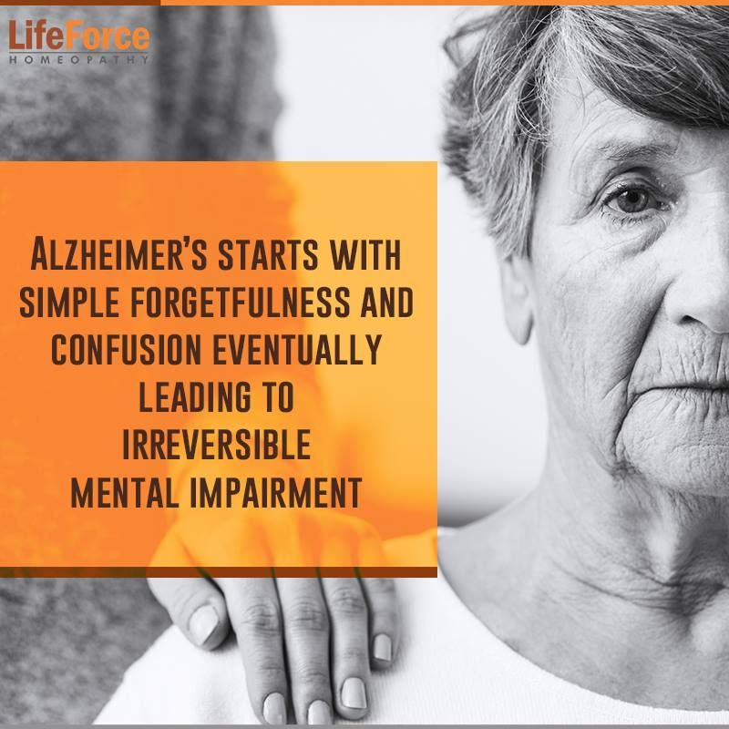 Alzheimer's Disease, Homeopathic treatment-'don't forget'