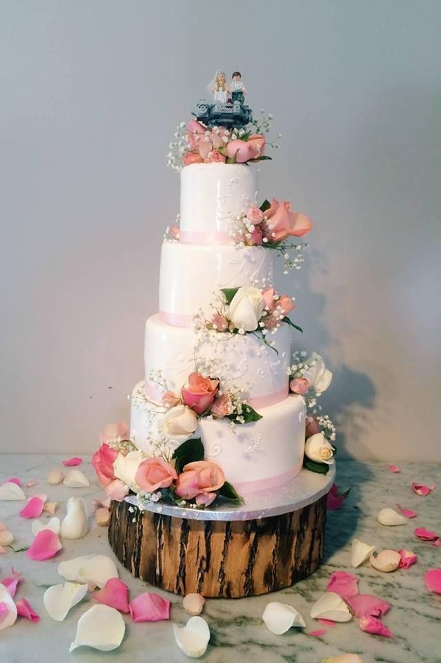 Champetre Wedding Cake Mariage Wedding Fidelice Fidelicious