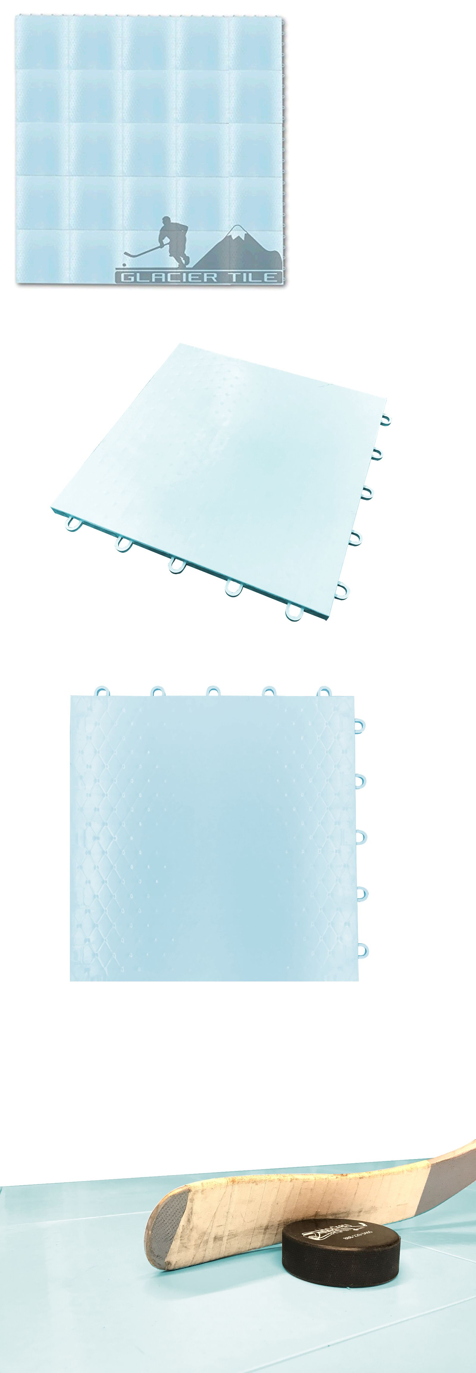 Other Ice And Roller Hockey 2911 25sf Hockey Floor Tiles Glacier