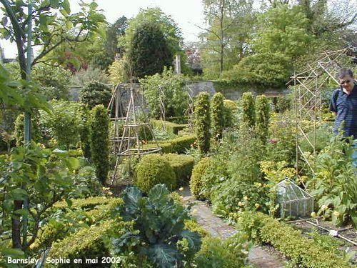 Barnsley House potager, 2002
