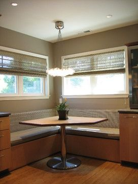 Contemporary Home Kitchen Booth Design Pictures Remodel Decor