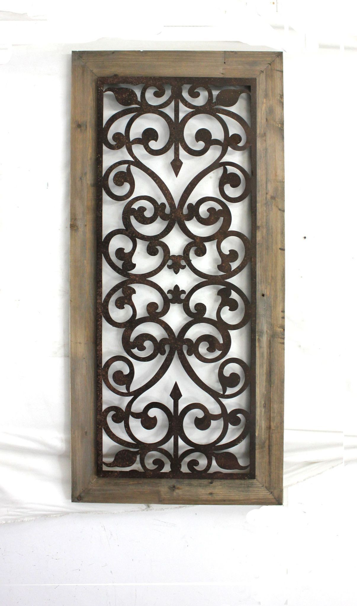 Metal Gate Wall Art Teton Home Metal & Wood Wall Plaque  Wd002  Wood Walls Metals