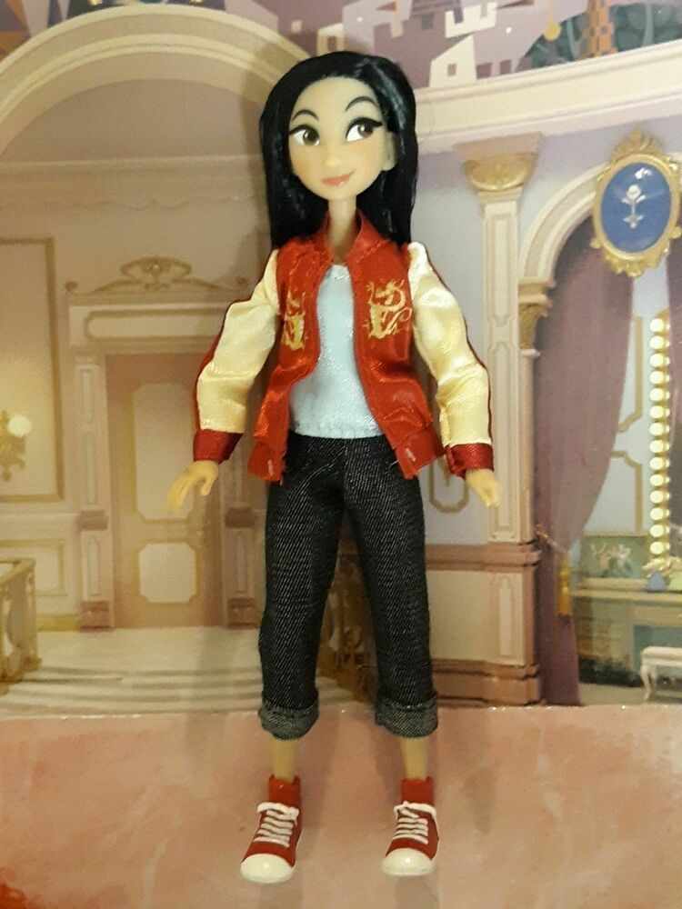 Ralph Breaks The Internet Disney Princesses Casual Clothes Mulan Mini Doll Disney Wreck It Ralph Movie Mulan Casual Outfits