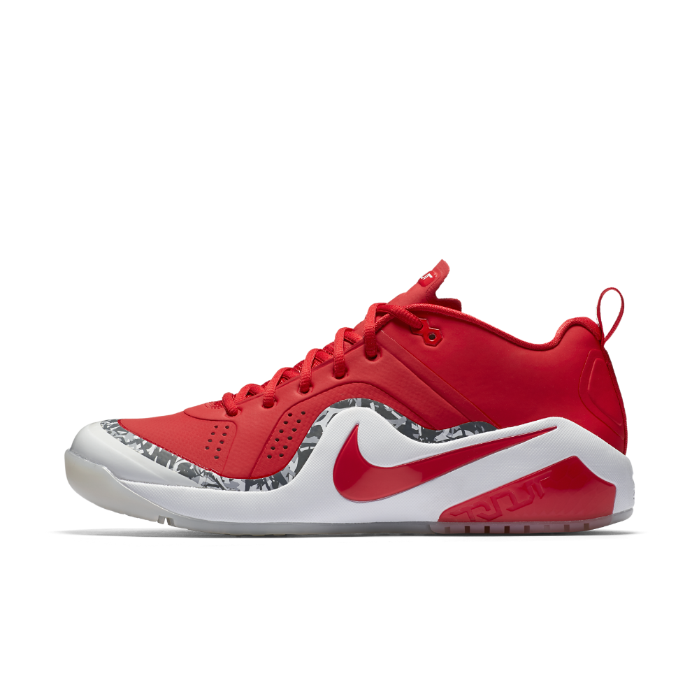 ebfcc4a8758ad Nike Force Zoom Trout 4 Men's Turf Baseball Shoe Size 14 (Red ...