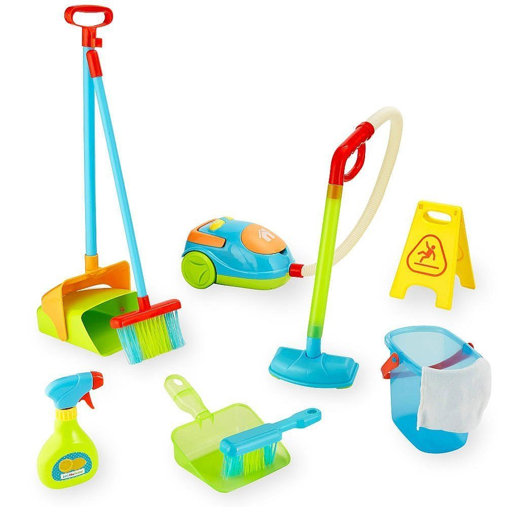 Amazon Com Just Like Home Mega Cleaning Set Toys Amp Games Cleaning Toys Toys For Boys Baby Doll Accessories