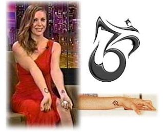 My Tattoos What They Mean Represent By Alyssa Milano