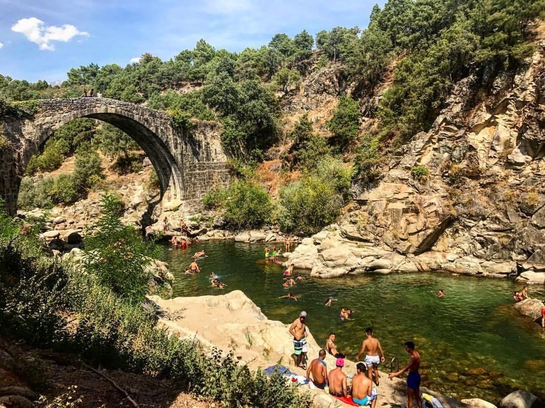 Zonas De Baño Cerca De Madrid Mucha Montaña Escapadas Cerca De Madrid Inspiración Para Viajes Piscinas Naturales