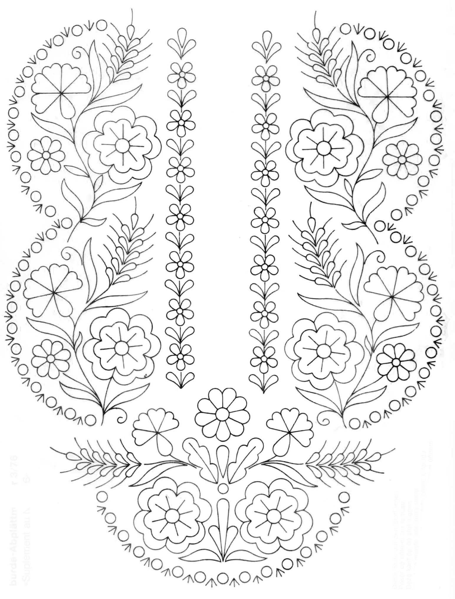 Lovely Folk Art Floral Embroidery Patterns Floral Embroidery Patterns Folk Art Flowers Scandinavian Embroidery