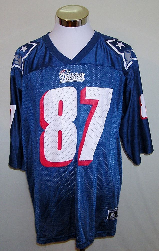 14dae614f New England Patriots Ben Coates Vintage 90 s Starter NFL Football Jersey  Size XL  Starter  NewEnglandPatriots