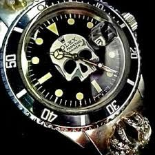 Chrome Hearts, for Rolex.
