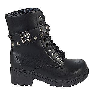 Women S Lug Boot Fate Black Bongo Boots Hiking Boots Shoes