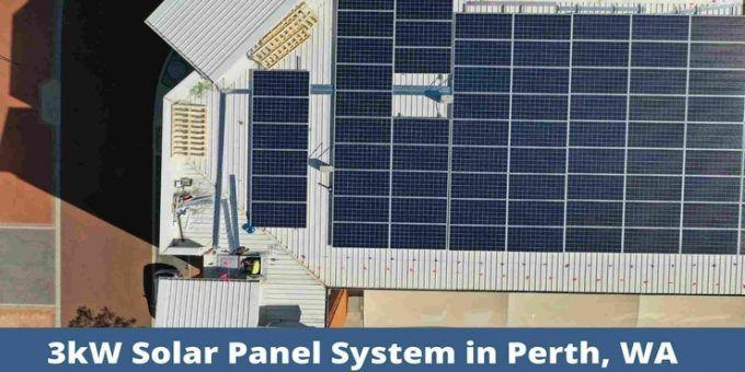 3kw Solar Power System In Perth Australia Future Solar Wa Solar Pv Systems Solar Panel Cost Solar Panels
