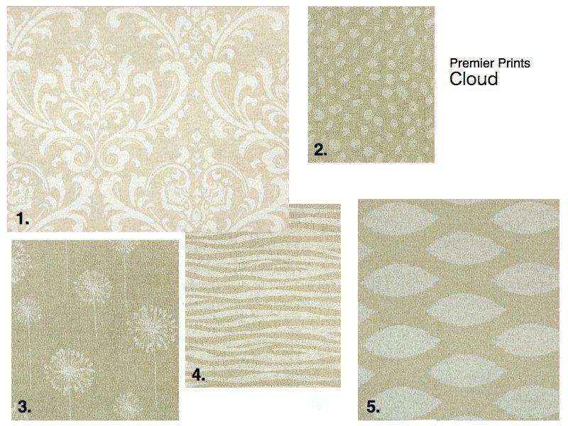 "NEW Cloud/Linen Curtain Panels 50"" x 96"". $155.00, via Etsy."