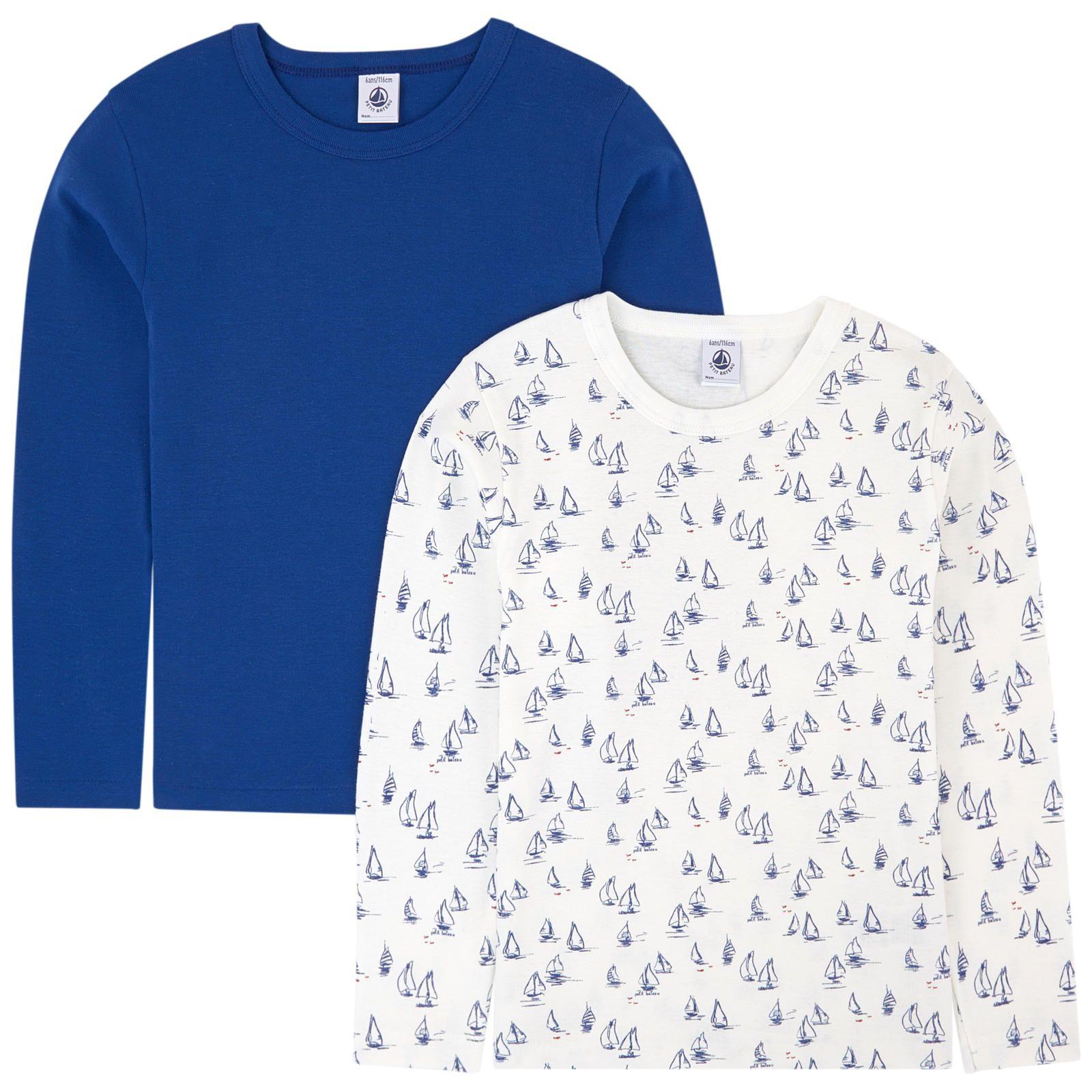 Petit Bateau Boys Longsleeve T Shirt